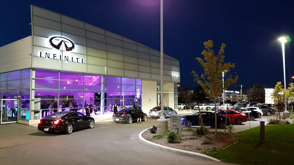 Guelph Infiniti Grand Opening Event is under way