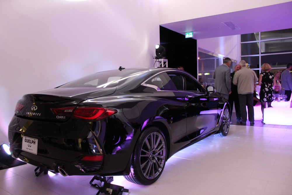 Infiniti Q60 On Display