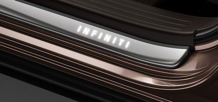 Infiniti Kick Plates